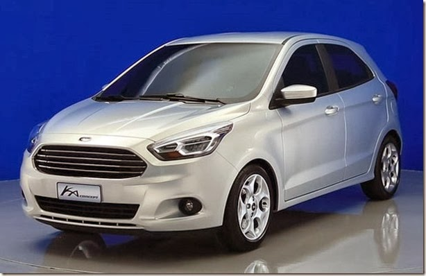 Ford Ka Concept front three quarters