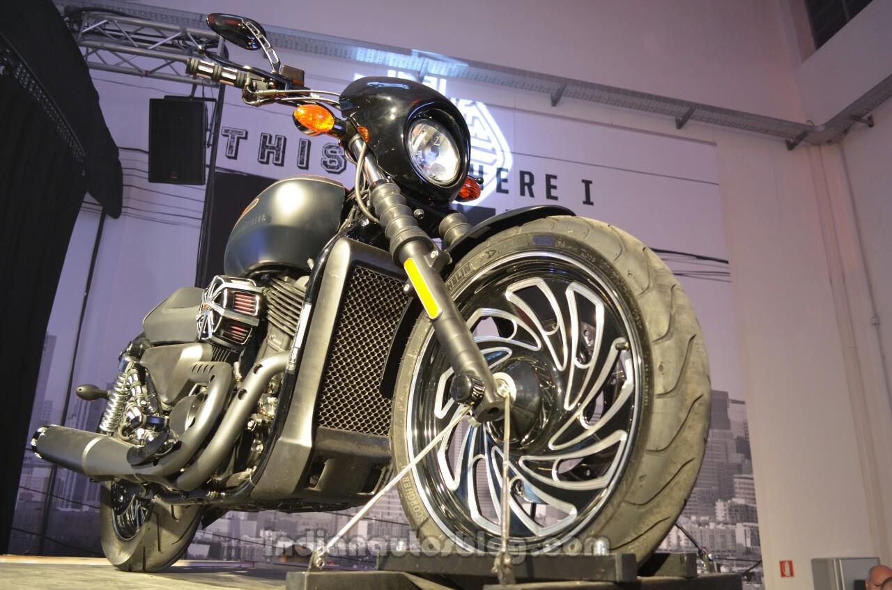 Harley Davidson Log: Harley Davidson Street 500