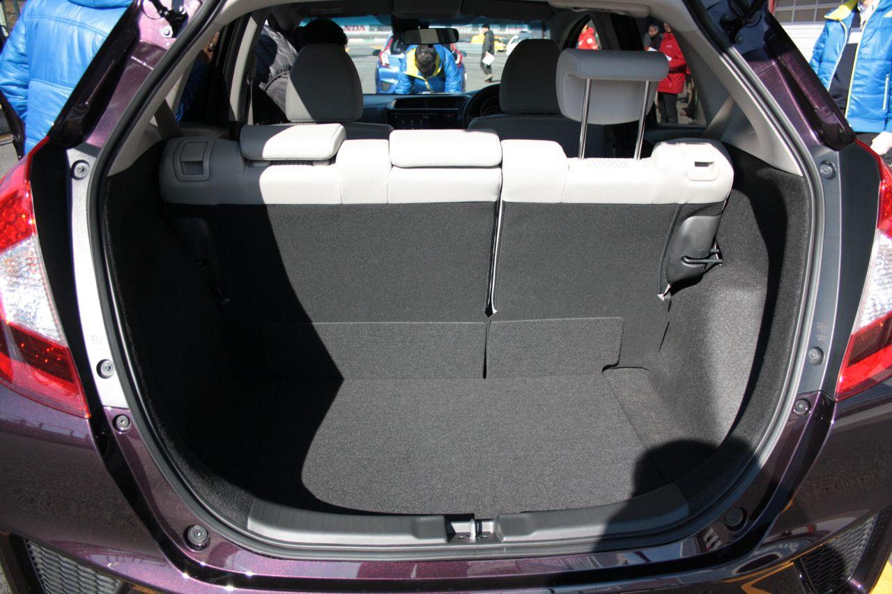 Honda Fit Boot Space
