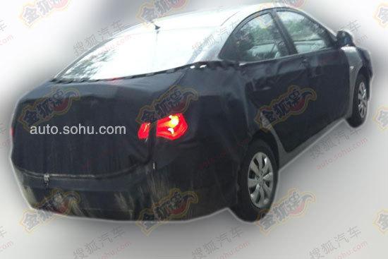 Hyundai Verna facelift China rear