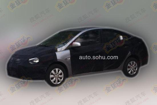 Hyundai Verna facelift China