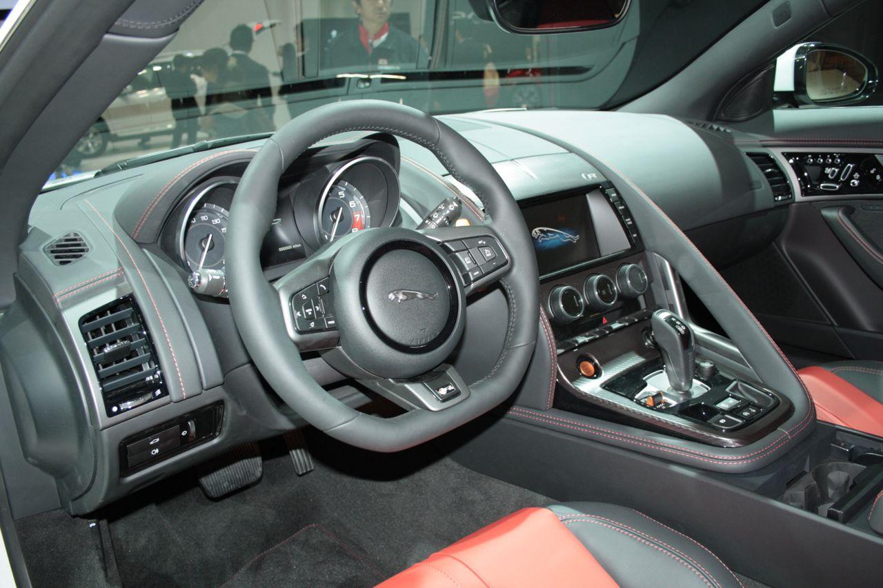Jaguar f type r coupe interior - Jaguar f type r coupe interior ...