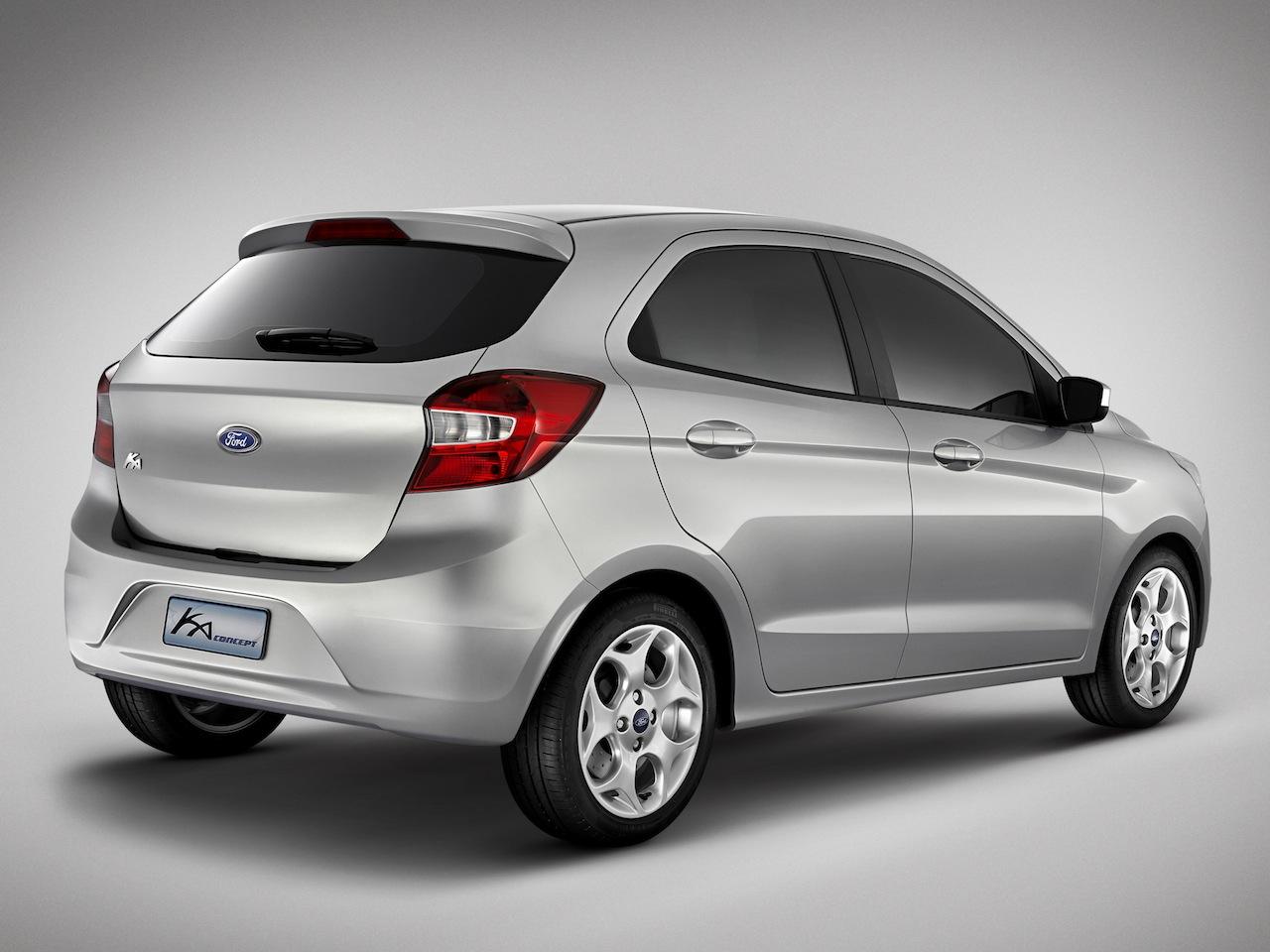 New Ford Ka Concept rear quarters