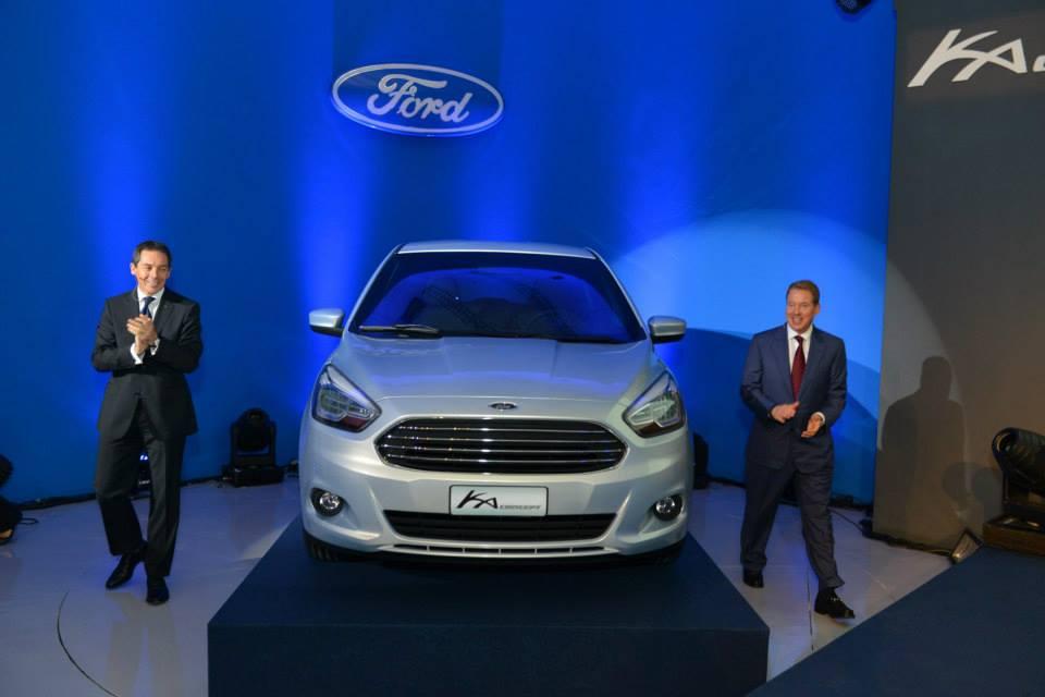 New Ford Ka Concept