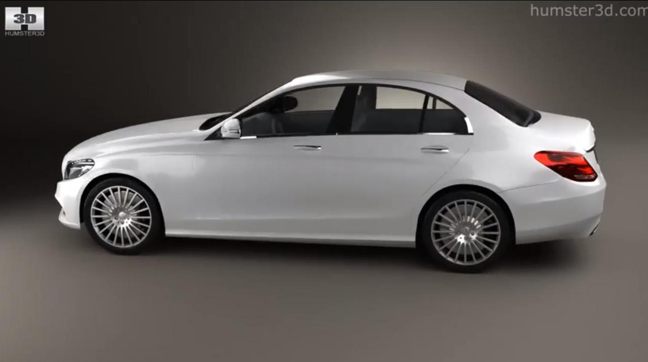 2014 Mercedes C Class 3D model