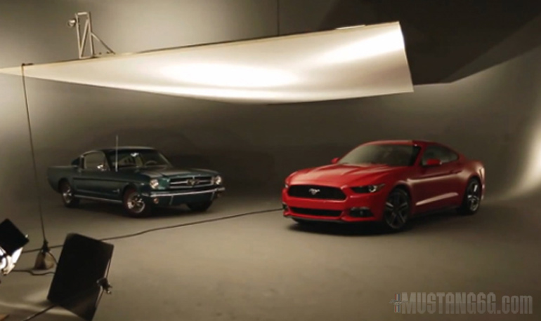 2015 Ford Mustang video screen capture