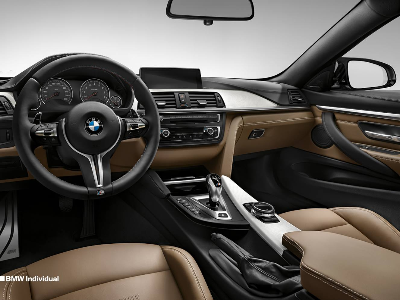 BMW teases the 'Individual line' 2014 M3 and M4 Coupe