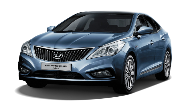 Hyundai Grandeur Hybrid front