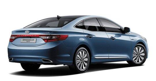 Hyundai Grandeur Hybrid rear