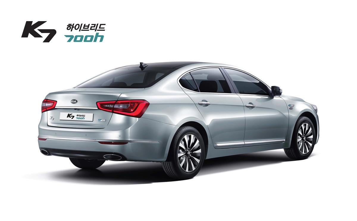 Korea Kia Announces K7 700h K5 500h Hybrid Models