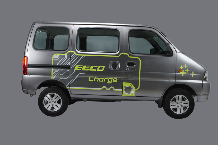 Maruti Eeco Charge EV press shot side view