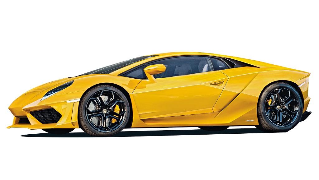 New Lamborghini Cabrera Rendering side