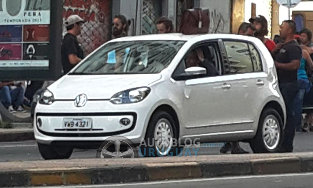 South American VW Up! spotted in Uruguay