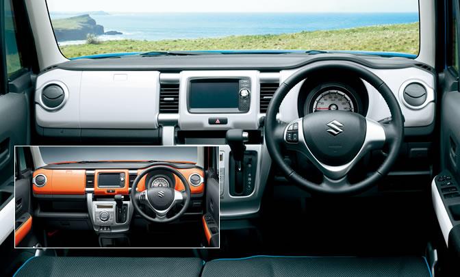 Suzuki Hustler dashboard official image