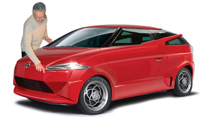 Tata's Top Secret Composite Car front