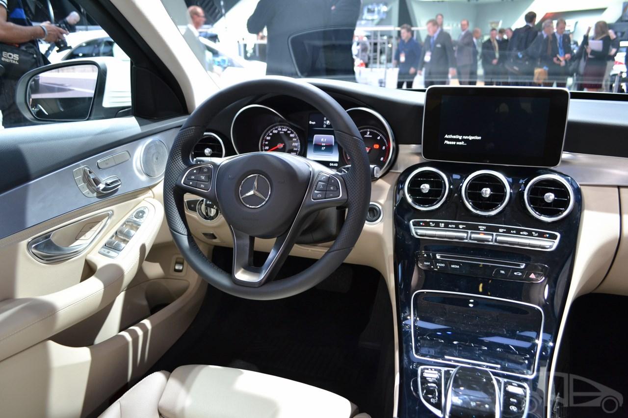 2015 Mercedes Benz C Class At 2014 Naias Interior