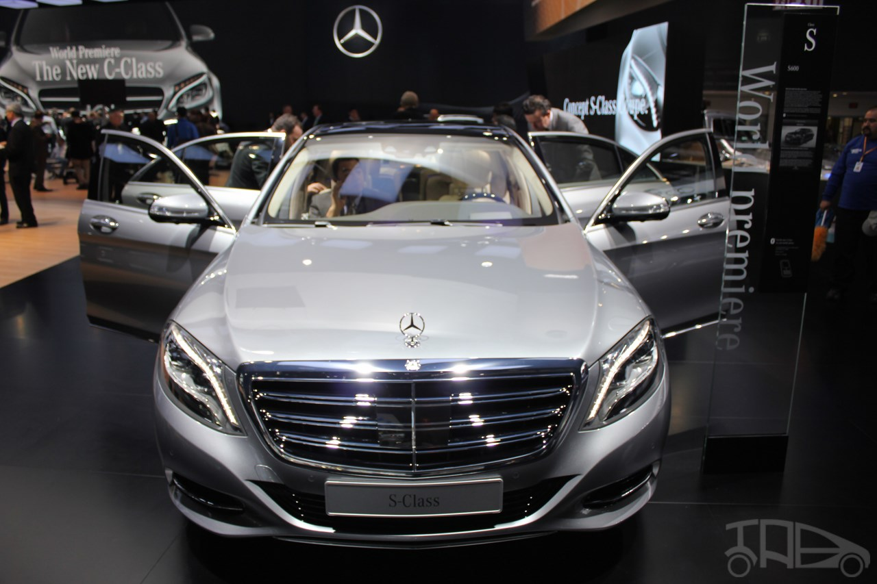 2015 Mercedes-Benz S600 at 2014 NAIAS front