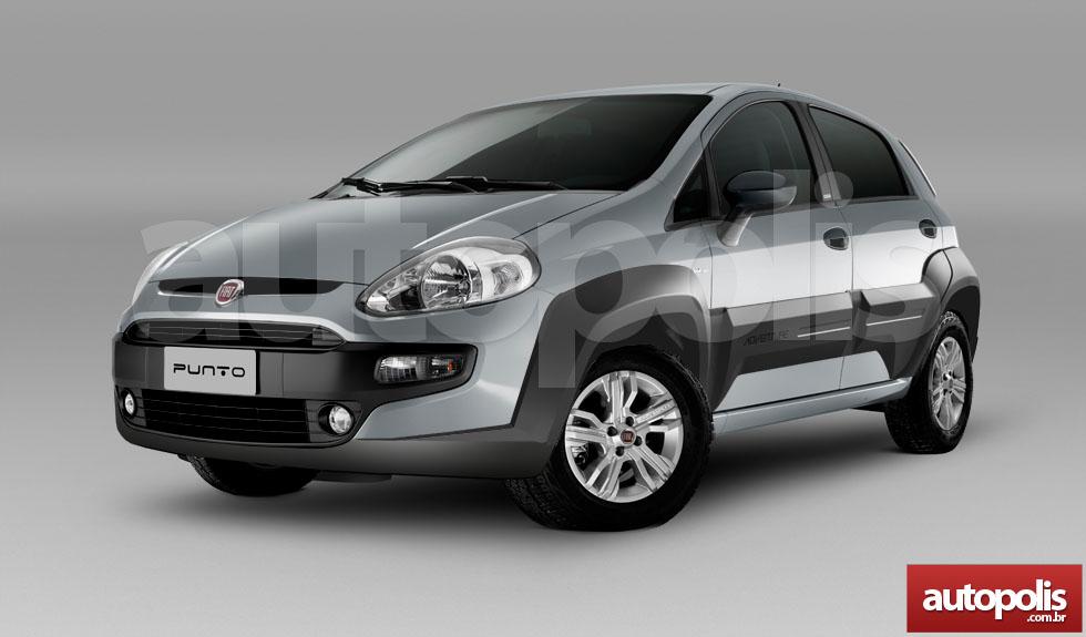 Fiat PUNTO ADVENTURE new rendering front