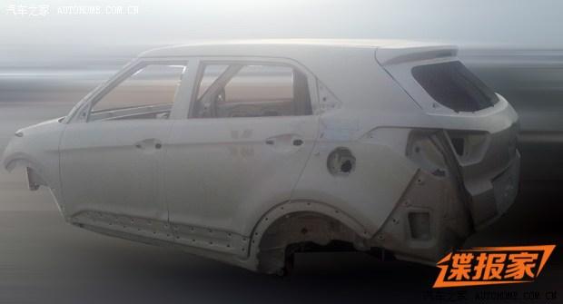 Hyundai ix25 bare-bones spyshot