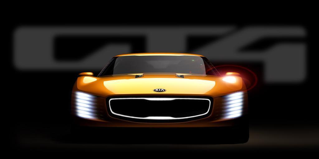Kia GT4 Stinger front NAIAS