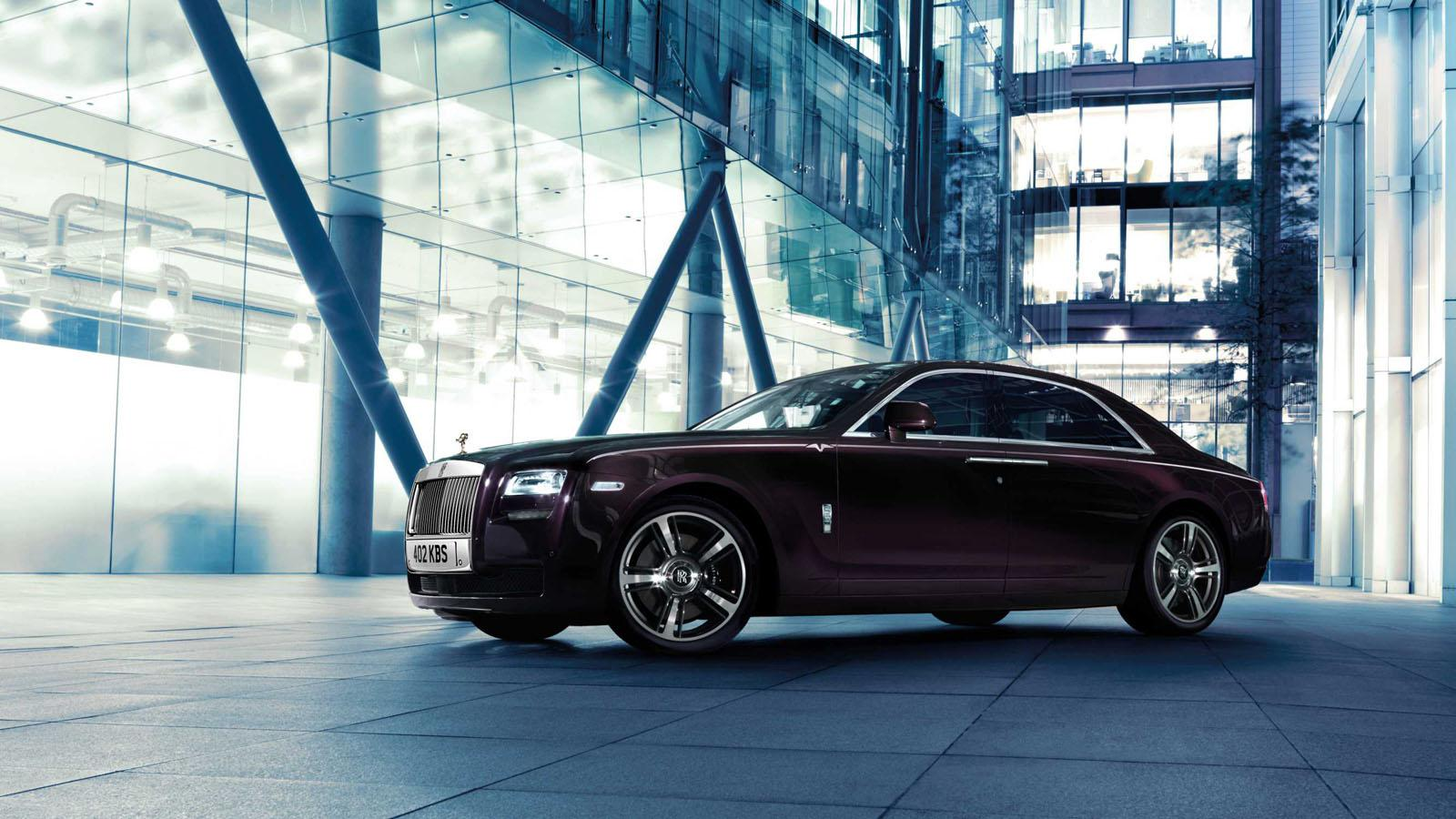 Rolls Royce Ghost V-Specification side
