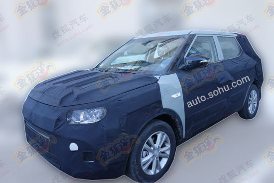 Ssangyong X100 spied
