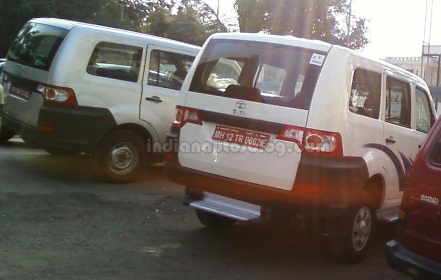 Tata Movus IAB spied rear quarter