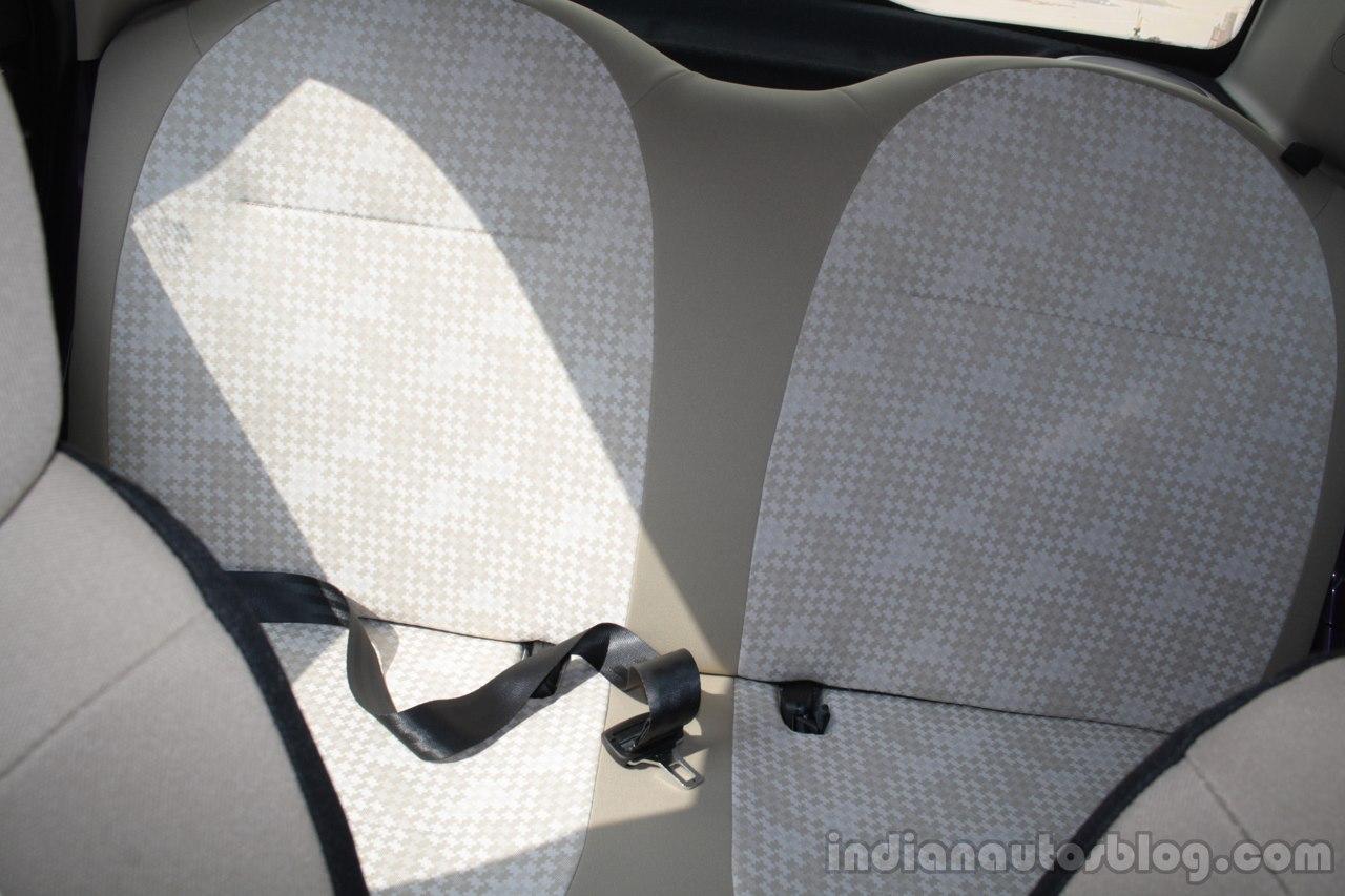 Tata Nano Twist rear seats