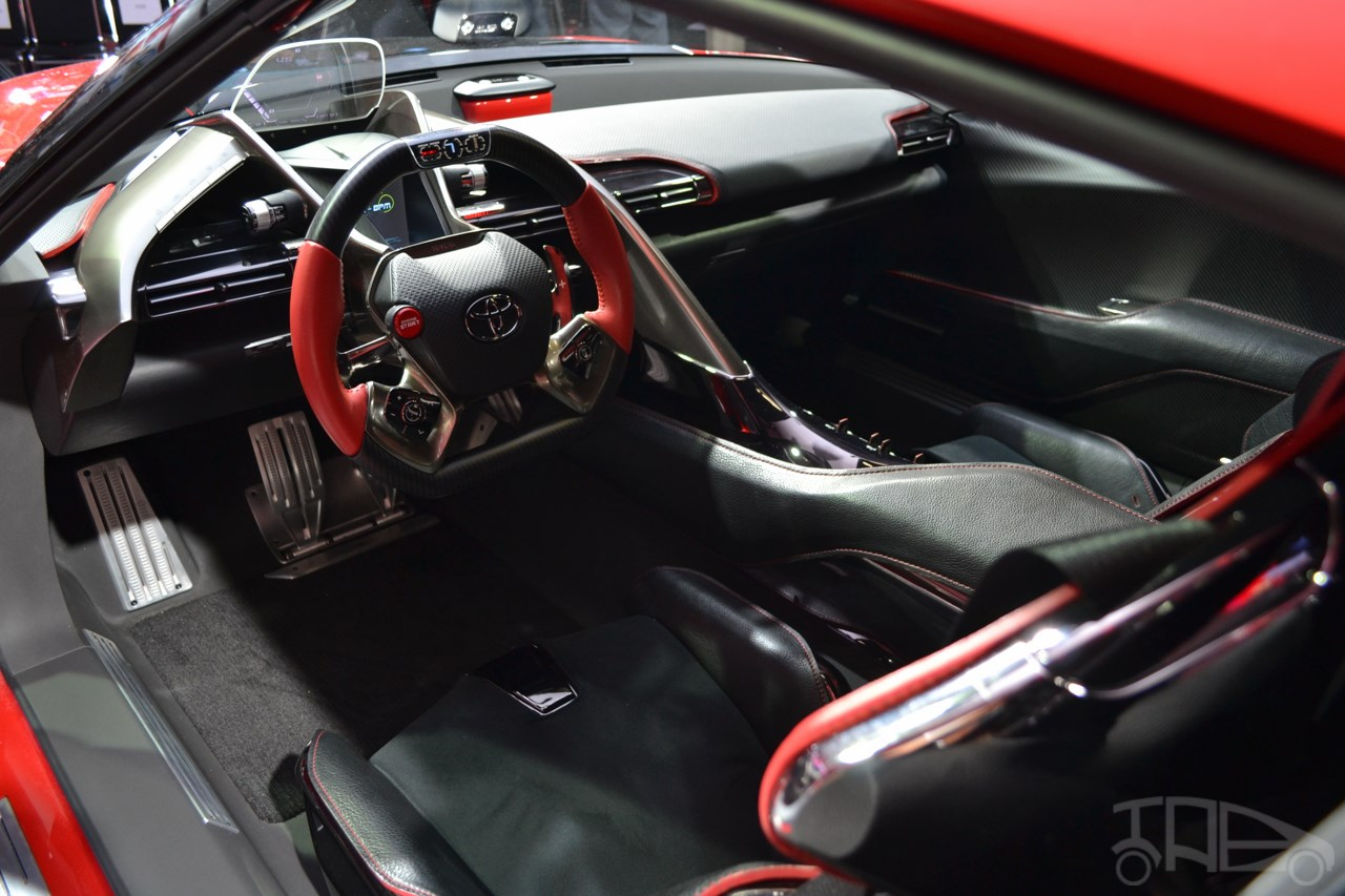 toyota ft 1 interior naias 2014. Black Bedroom Furniture Sets. Home Design Ideas
