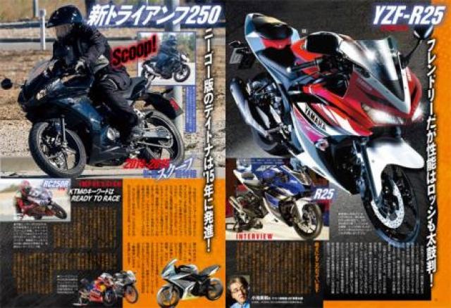 Yamaha R25 leaked rendering 2