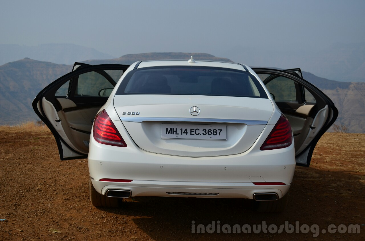 2014 Mercedes S Class review rear doors open