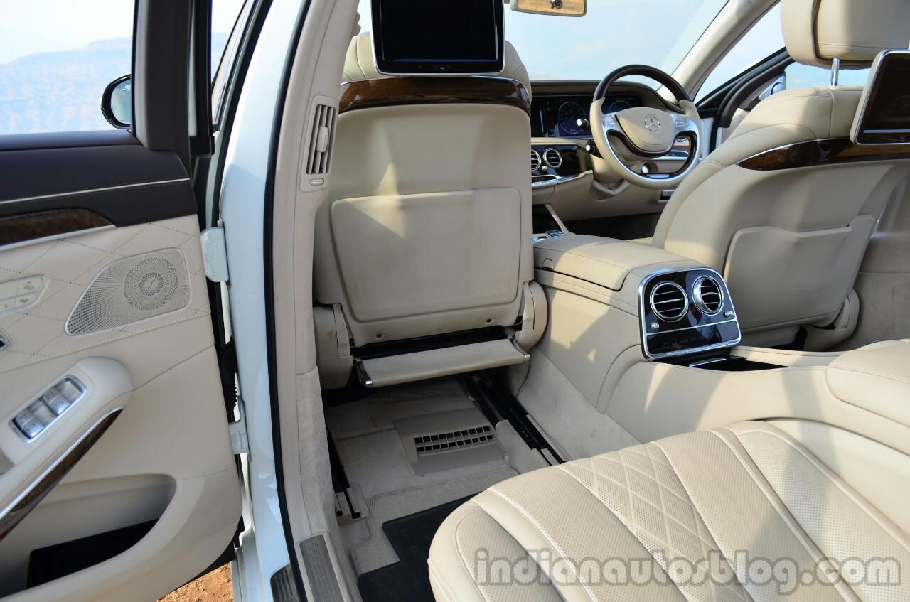 2014 Mercedes S Class review rear legroom
