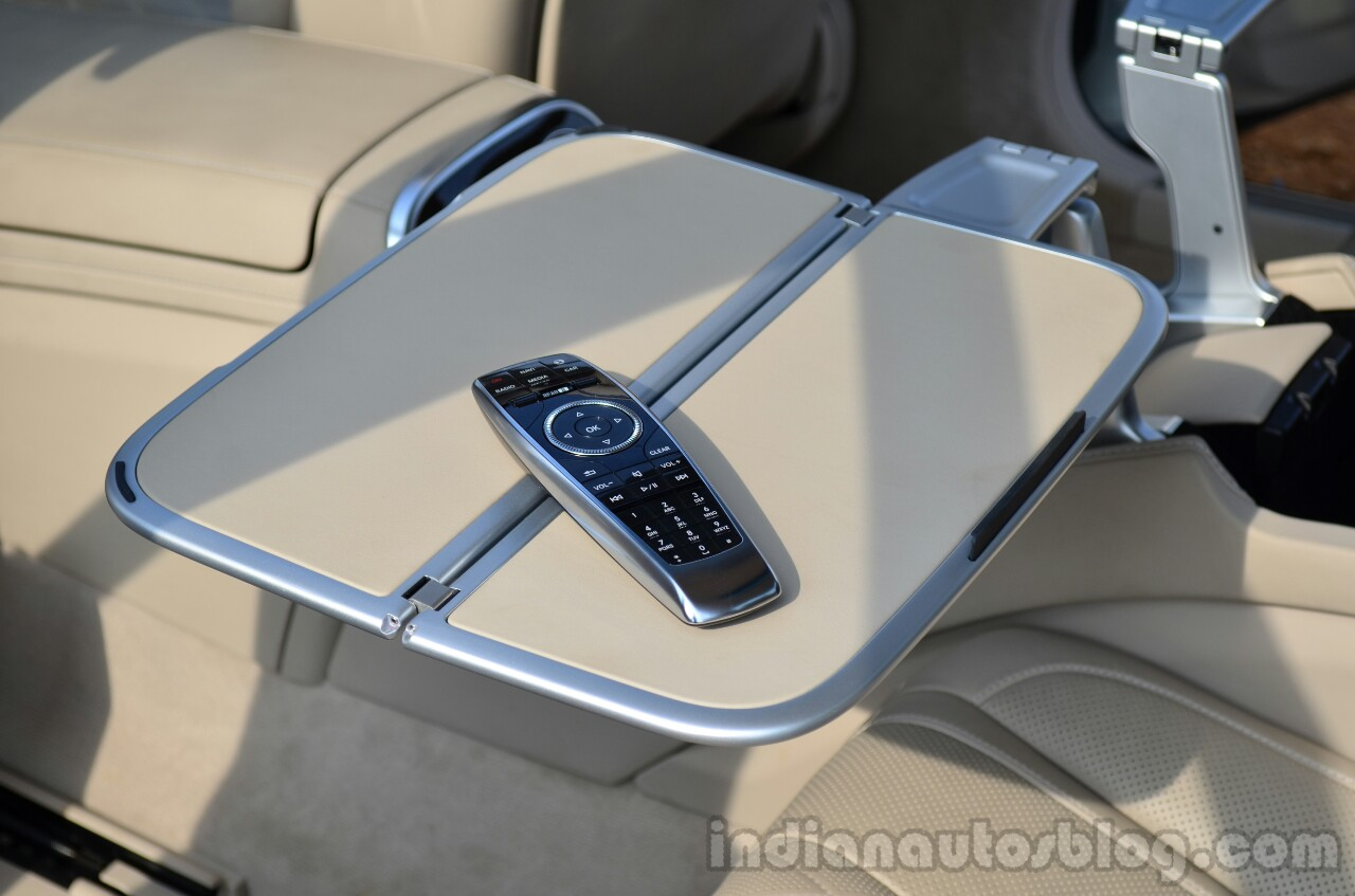 2014 Mercedes S Class review table