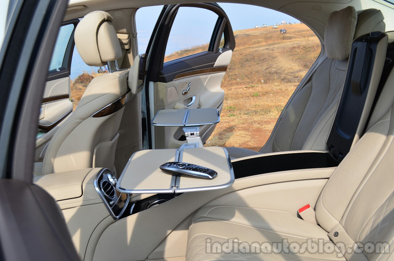 2014 Mercedes S Class review work table