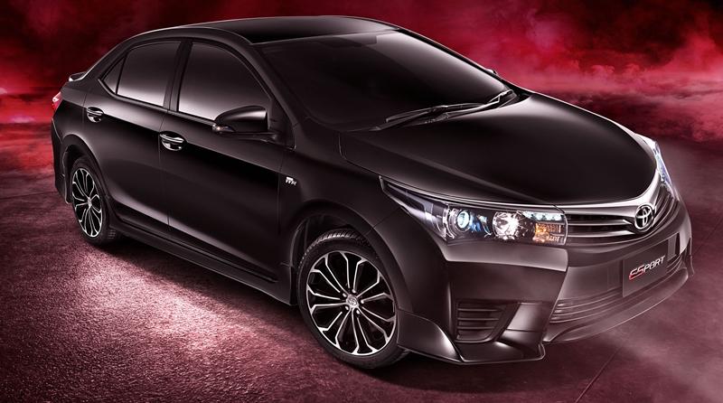 2014 Toyota Corolla Altis ESport Thailand front