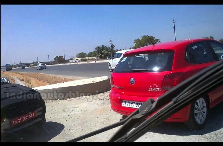 2015 Hyundai i20 IAB spied with Polo rear end