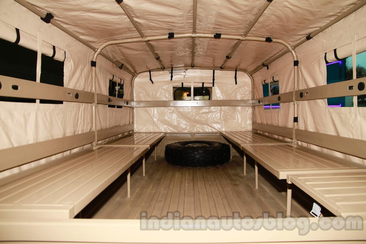 Ashok Leyland Garuda 4x4 cargo bay live