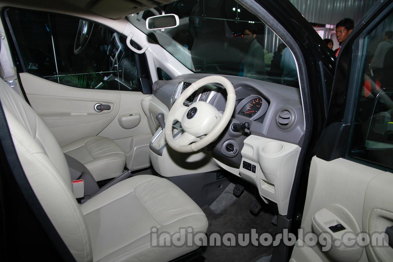 Ashok Leyland Stile customized dashboard driver side at Auto Expo 2014