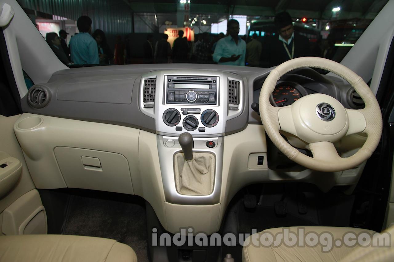 Ashok Leyland Stile customized dashboard full at Auto Expo 2014