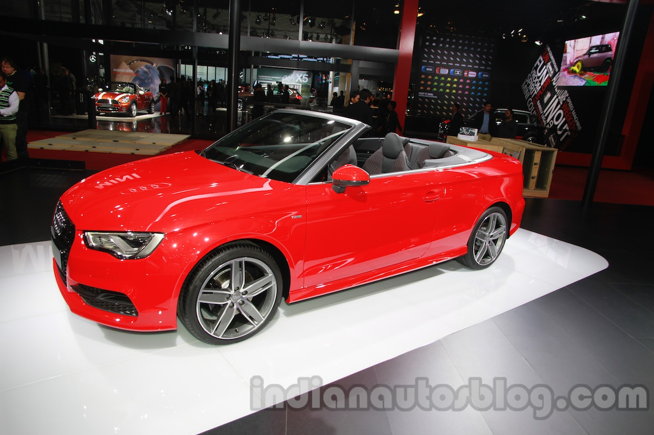 Audi A3 Cabriolet Launched At Inr 44 75 Lakhs