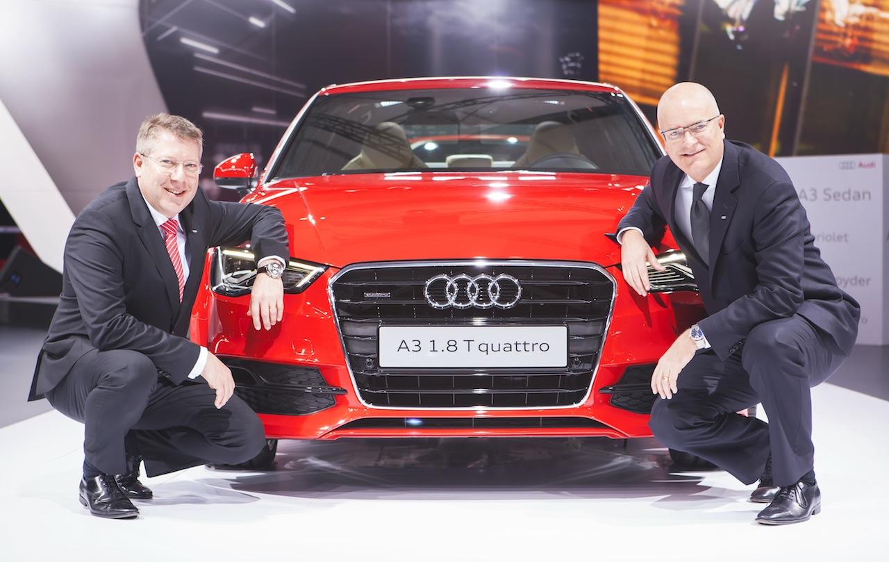 Audi A3 Sedan India debut image