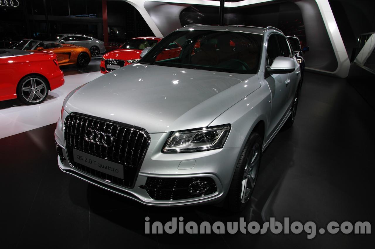 Audi Q5 special edition Auto Expo front quarter