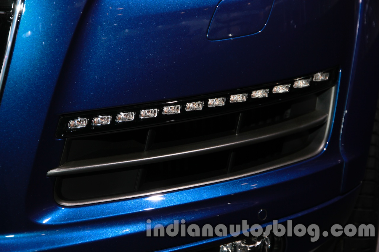Audi Q7 special edition Auto Expo LED lights
