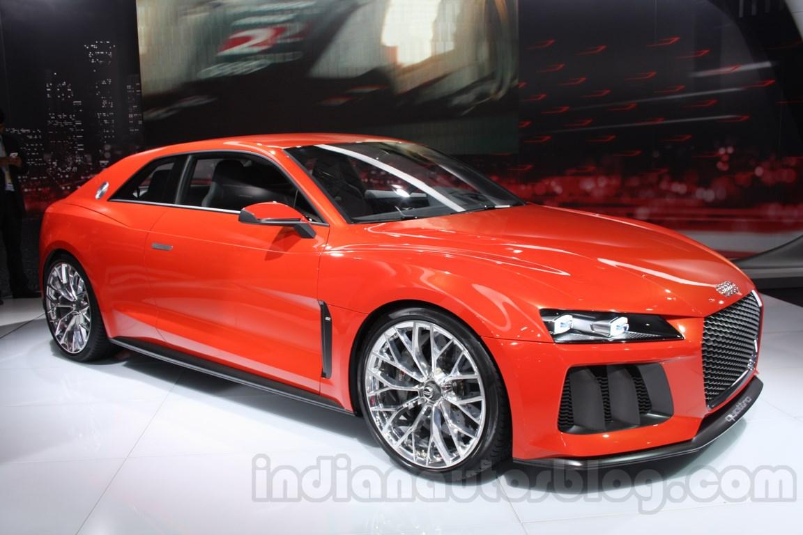 Audi Sports Quattro Concept Auto Expo front quarter