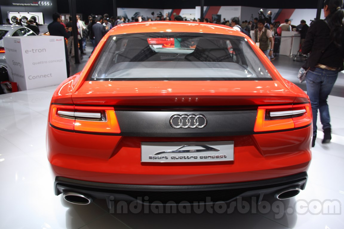 Audi Sports Quattro Concept Auto Expo rear