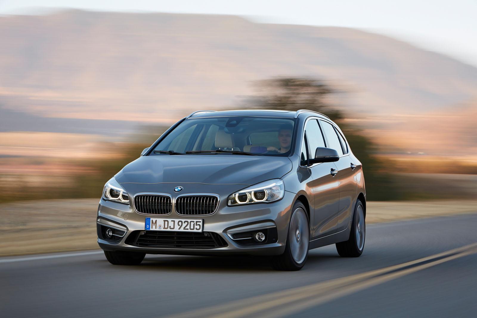 BMW 2 Series Active Tourer press shots profile
