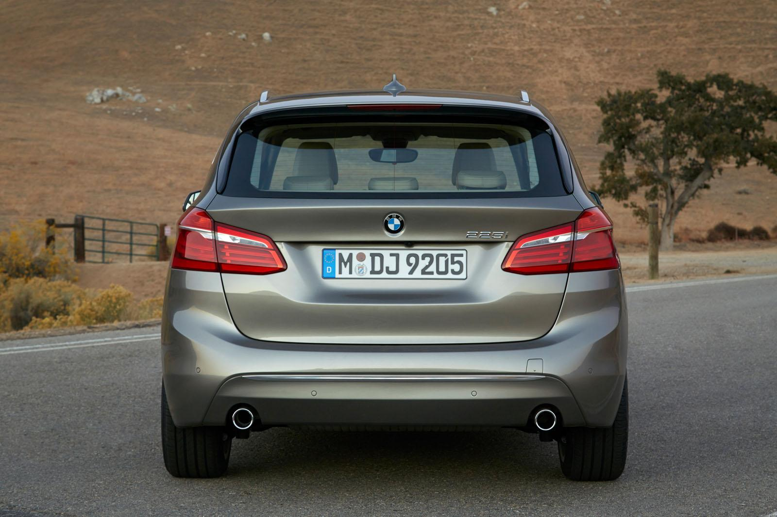 BMW 2 Series Active Tourer press shots rear