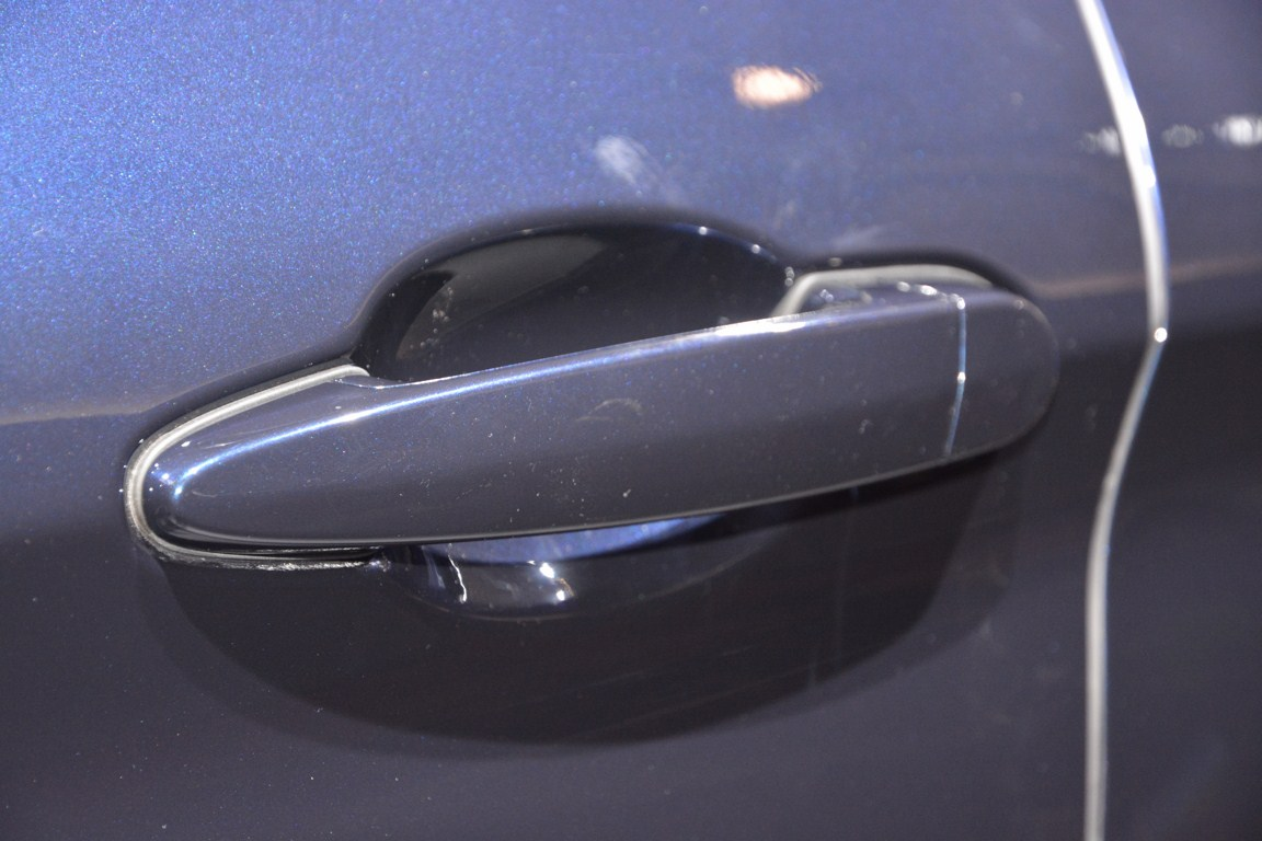 BMW 3 Series GT door handle from Auto Expo 2014