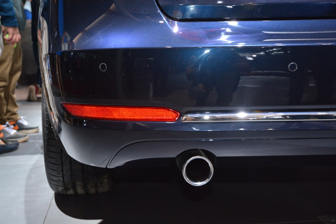 BMW 3 Series GT exhaust from Auto Expo 2014