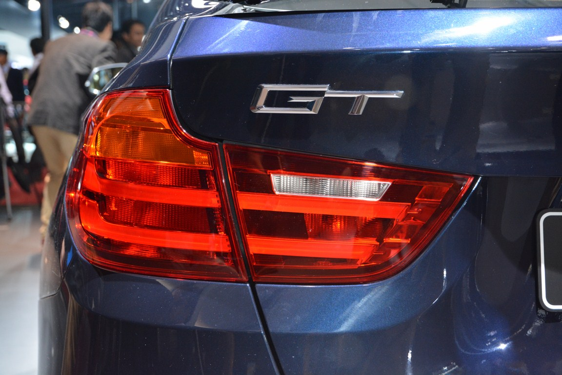 BMW 3 Series GT taillamp from Auto Expo 2014